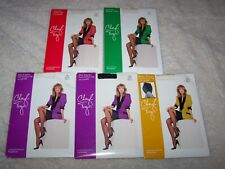 Lot of 5 Pairs Vintage Cheryl Tiegs Control Top Pantyhose Nylons Size A