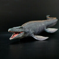"15"" Jurassic Realistic Mosasaurus Dinosaur Dino Figure Figurine Kids Toy Gift"