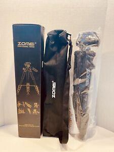 ZOMEI Q111 Professional Aluminium Travel Tripod Pan Head for Canon DSLR Camera