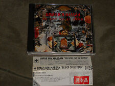 Umar Bin Hassan Be Bop Or Be Dead Japan CD Bill Laswell Anton Fier