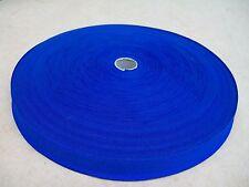 "BINDING TAPE POLYESTER 25mm 1"" ROYAL BLUE 10 Meters"
