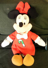 "DISNEY~16"" Plush~Christmas~ MINNIE MOUSE~ Plush Doll~NWT"