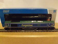 """DAPOL MODEL RAILWAYS 2D-007-010 A CLASS 66 DIESEL LOCO """"FREIGHTLINER"""" N GAUGE"""