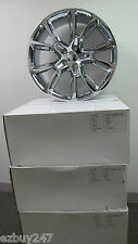 "22"" NEW JEEP GRAND CHEROKEE SRT8 STYLE SET OF FOUR CHROME WHEELS RIMS 9113"