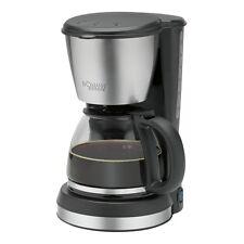 Bomann KA 1369 CB Estate Schwarz-Edelstahl Filter-Kaffeemaschine 900 Watt