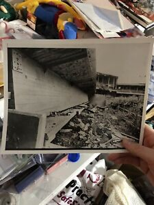Extremely Rare CONNIE MACK STADIUM Dugout Shot Before Demolition
