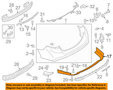 FORD OEM 13-16 Fusion-Spoiler Valance Panel DS7Z17810AA