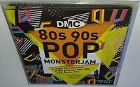 DMC 80s & 90s POP MONSTERJAM BRAND NEW DJ REMIX SERVICE 3CD SET