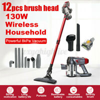 INSMA Cordless Stick Vacuum Powerful 130W 8000Pa Washable Filter Vacuum Cleaner