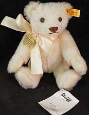 White Steiff Teddy 664601 Memories Bear Special Edition for Danbury Mint
