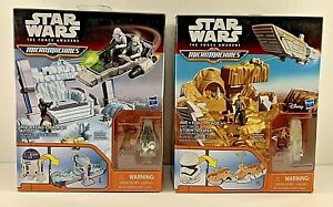 New Star Wars The Force Awakens Micro Machines R2D2 AND Stormtrooper Play Sets