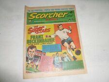 SCORCHER & SCORE Comic - Date 14/10/1972 - UK Paper Comic