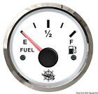 Osculati 27.322.01 Indicatore carburante 240/33 Ohm bianco/lucida