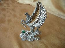 1980's Pewter Spoontiques Pegasus Figurine