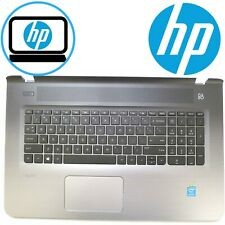 Genuine HP Pavilion 17-G 17T-G Palmrest Top Cover Keyboard & Touchpad 809302-001