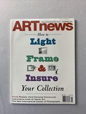 Art News Magazine November 2000 / Elliott Erwitt, Picaso