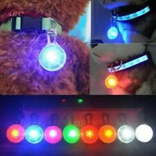 1x Fascinating Pet Dog Cat Puppy LED Flashing Collar Safety Night Light Pendant