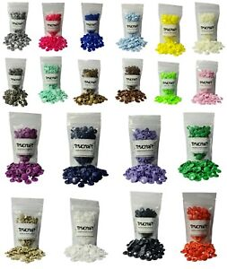 Trucraft KAM SNAPS - 50 Sets - Size 20 T5 - Poppers Plastic Fasteners Studs