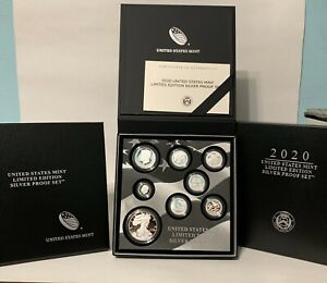 2020 US Mint Limited Edition Silver Proof Set (20RC)