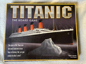 Titanic The Board Game 1998  100% COMPLETE w/ Instructions. See Pictures