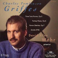 David Allen Wehr Plays Charles Tomlinson Griffes - CD Neu / OVP