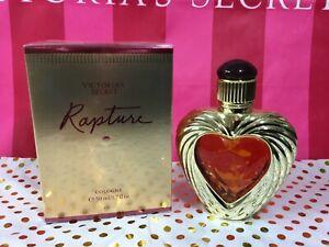VICTORIA'S SECRET RAPTURE  COLOGNE PERFUME EDP 1.7 OZ 50 ML HEART SHAPED SEALED
