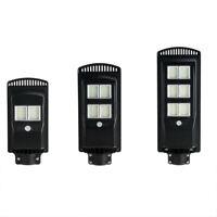 Solar Wall Street Light PIR Sensor de Movimiento LáMpara de Exterior + Cont R3T8