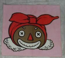 "RARE Raggedy Ann & Andy's  BELINDY Face Area Rug 27 1/4"" x 31 1/4""  Japan"