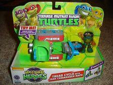 TMNT Teenage Mutant Ninja Turtles Half-Shell Heroes Tread Cycle Commander Raph