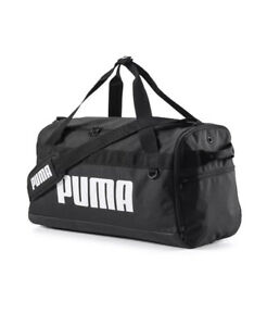 Puma Small Challenger Workout Training Duffel Duffle Sports Holdall Bag Black