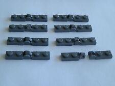 Lego 44301+44302# 16x Scharnier 1x2-1x2 grau neu dunkelgrau