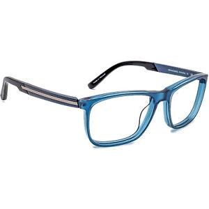 OGA Men's Eyeglasses 7771O BB091 Blue Rectangular Frame France 54[]17 140