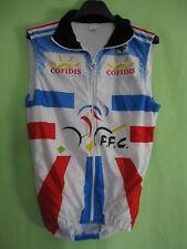 Veste Cycliste Equipe France Noret Cofidis FFC vintage Cycles jersey - 3 / M