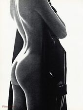 1967 Vintage NUDE FEMALE Woman Derriere Butt Photo Gravure Art SAM HASKINS 16x20