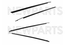 NEW Outer Door Belt Moulding 4pc Set Weatherstrip OEM For Toyota Tundra CrewMax