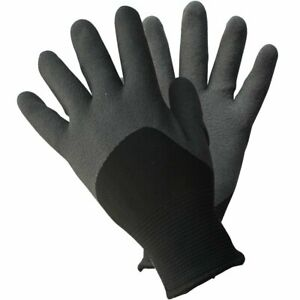 Ultimate Thermal Gloves Black Soft and Cozy Lining