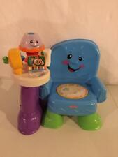 Fisher Price Laugh and Learn Song and Story Learning Chair MUSICAL FUN! So Fun!