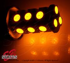 Set of 2pcs Amber Rear Signal 18 SMD LED Light Bulb 3156A - 3156 1 Pair