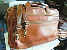 vintage Hartmann American Belting Leather Attache Briefcase canry on #  25