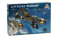 Ju-87 B-2/R-2 Stuka 'Picchiatello' Fighter Plastic Kit 1:72 Model 2769 ITALERI