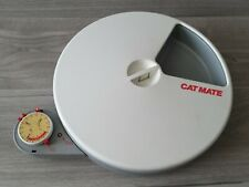 Cat Mate C50 Automatic 5 Meal Pet Feeder & Timer for Cats & Small Dogs Working #