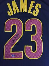 Lebron James Signed Authentic Adidas  Swingman Jersey XL (w/o COA)
