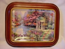 "Thomas Kinkade ""The Garden Of Prayer"" Natures Retreats Collector Plate 1998"