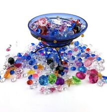 10lb Acrylic Gems Assorted Charms Pirate Jewels Crafts Mix LOT Party Decorations