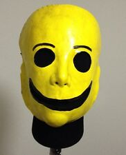Freaky Yellow Smiley Face mask Clown Halloween jason freddy Creepy