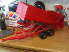 Childs Britains ERTL Red Trailer .- used