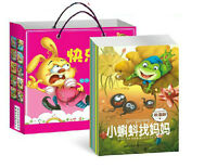 10 books /set,Chinese English bilingual fairy tale book for kids with pictures