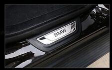2PCS Rear Door sill scuff plate Guards trim For BMW X4 F26  X3 F25 2011-2017