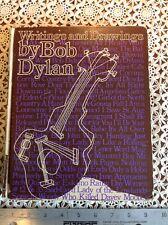Writings and Drawings by Bob Dylan Hardback Book 1973 1st Edition Borzoi