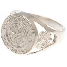 Celtic F.C - Sterling Silver Ring (MEDIUM - Size U) - GIFT